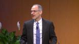 Zeke Emanuel speaking at the Pediatric Innovation Summit.