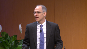 Zeke Emanuel speaking at the Pediatric Innovation Summit.
